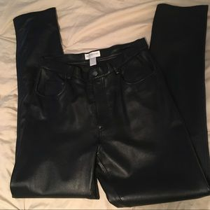 🌟🌟HOST PICK 🌟🌟LEATHER  Pants 10Tall LIKE NEW